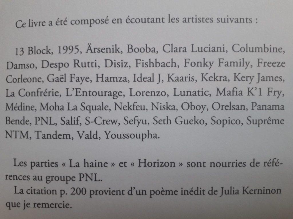 Amante Désintégration, d'Emmanuelle Richard : un livre écrit sous &UT_57