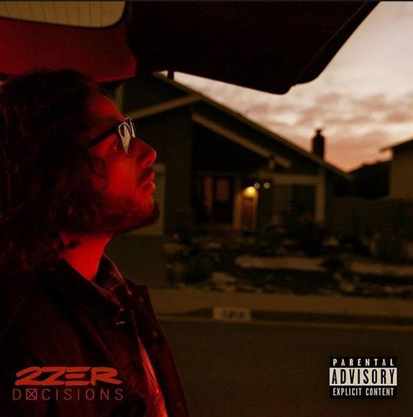 """Cover du premier projet solo de 2Zer, """"Décisions"""""""